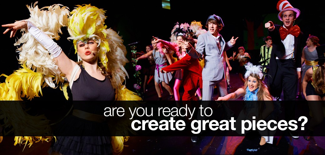 Are you ready to create great pieces?