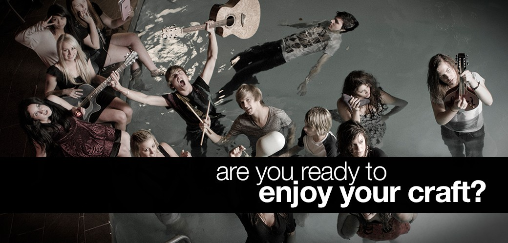 Are you ready to enjoy your craft?